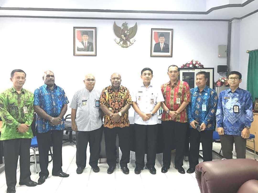 Kemenko Polhukam Kunjungi Kanwil Kemenkumham Papua Pantau Pencapaian Rencana Aksi HAM di Papua