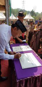 Wakili Presiden, Menko Polhukam Resmikan Bumi Perkemahan Syarikat Islam H. Agus Salim