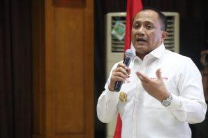 Sesmenko Polhukam Sampaikan Empat Pesan Untuk Seluruh Pegawai di Awal Tahun 2019